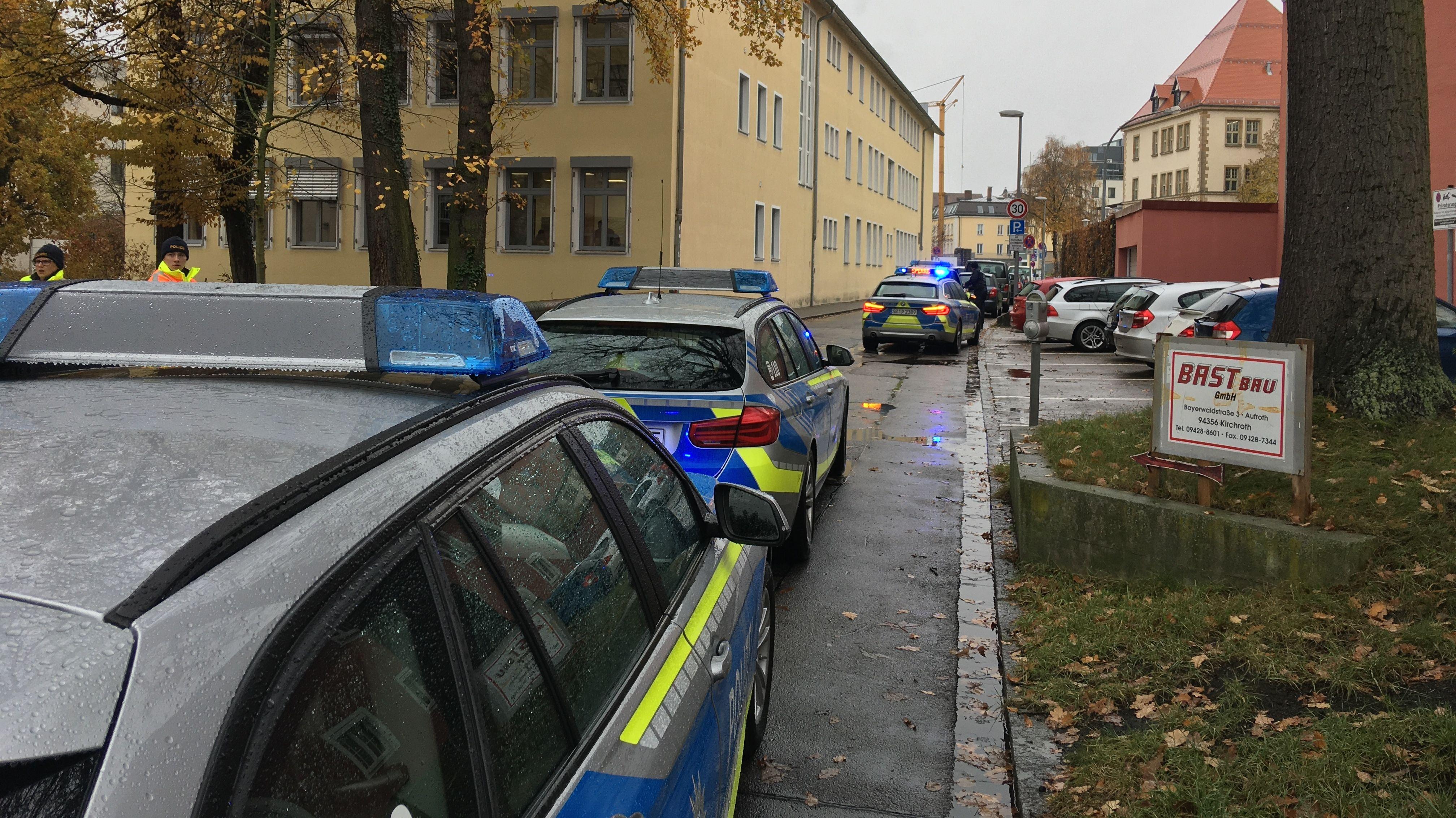 Bombendrohung in Straubing: Einsatz beendet