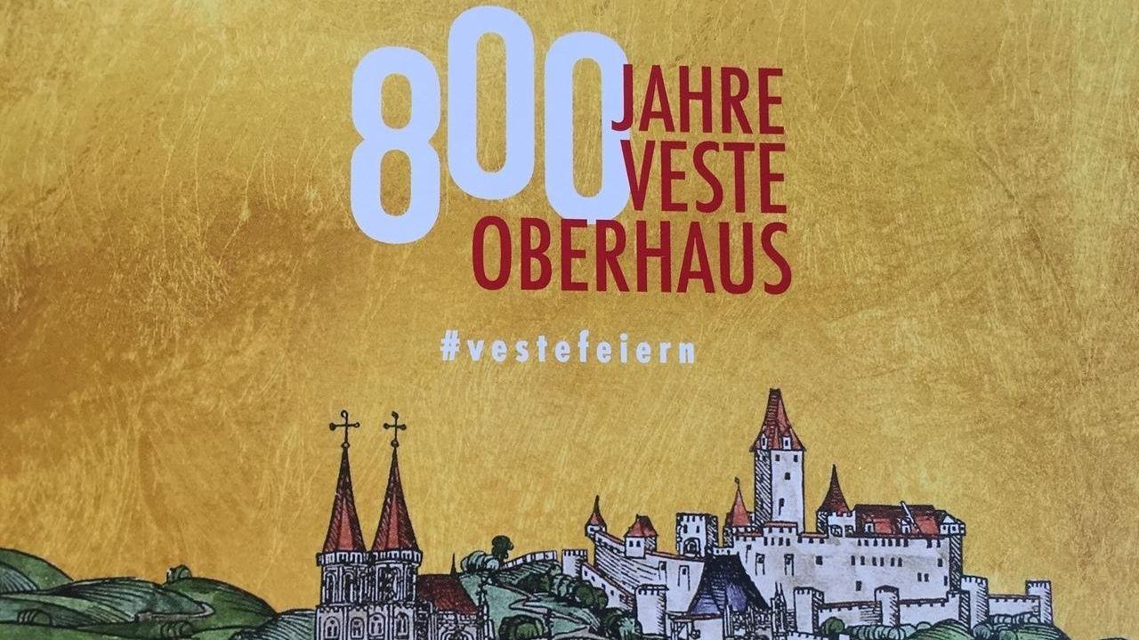 Plakat zum 800. Jubiläum der Veste Oberhaus in Passau