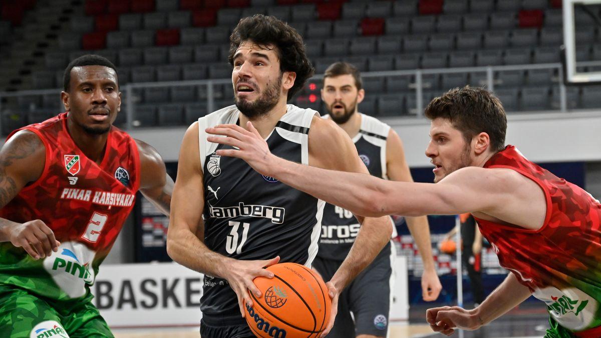 Brose Bamberg gegen Pinar Karsiyaka