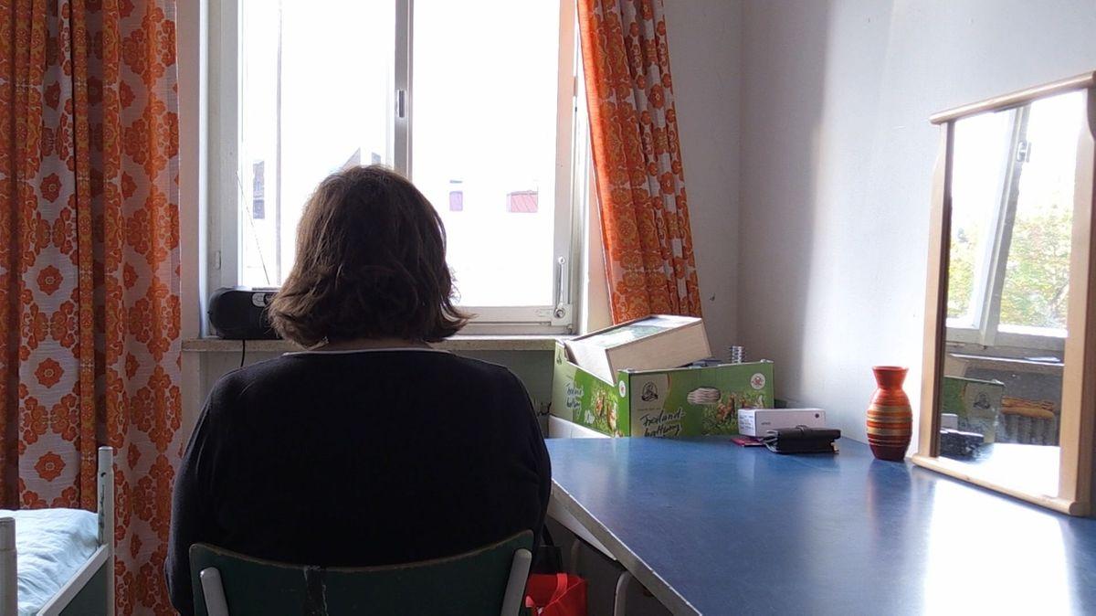 Obdachlose Anwältin in der Donauwörther Unterkunft.