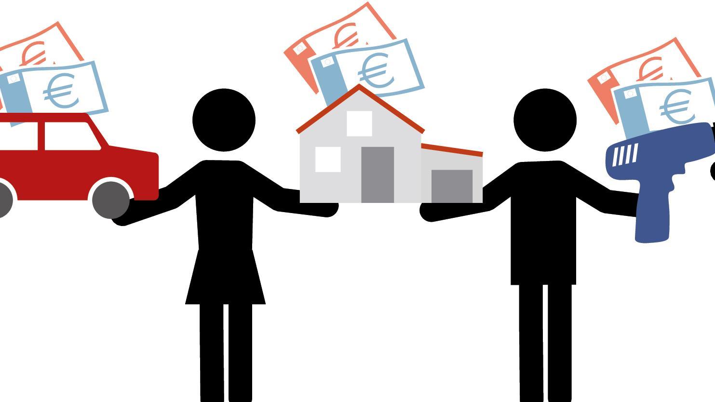 Piktogramm: Share Economy