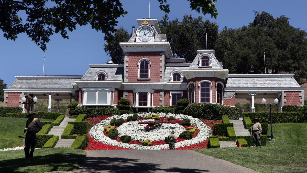 Haupthaus der Neverland-Ranch (Foto von 2016).