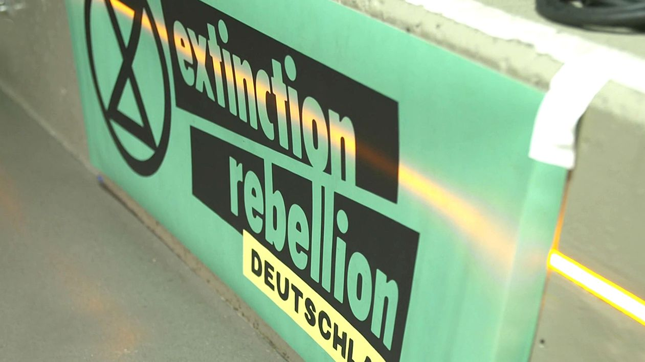 Plakat Extinction Rebellion Deutschland