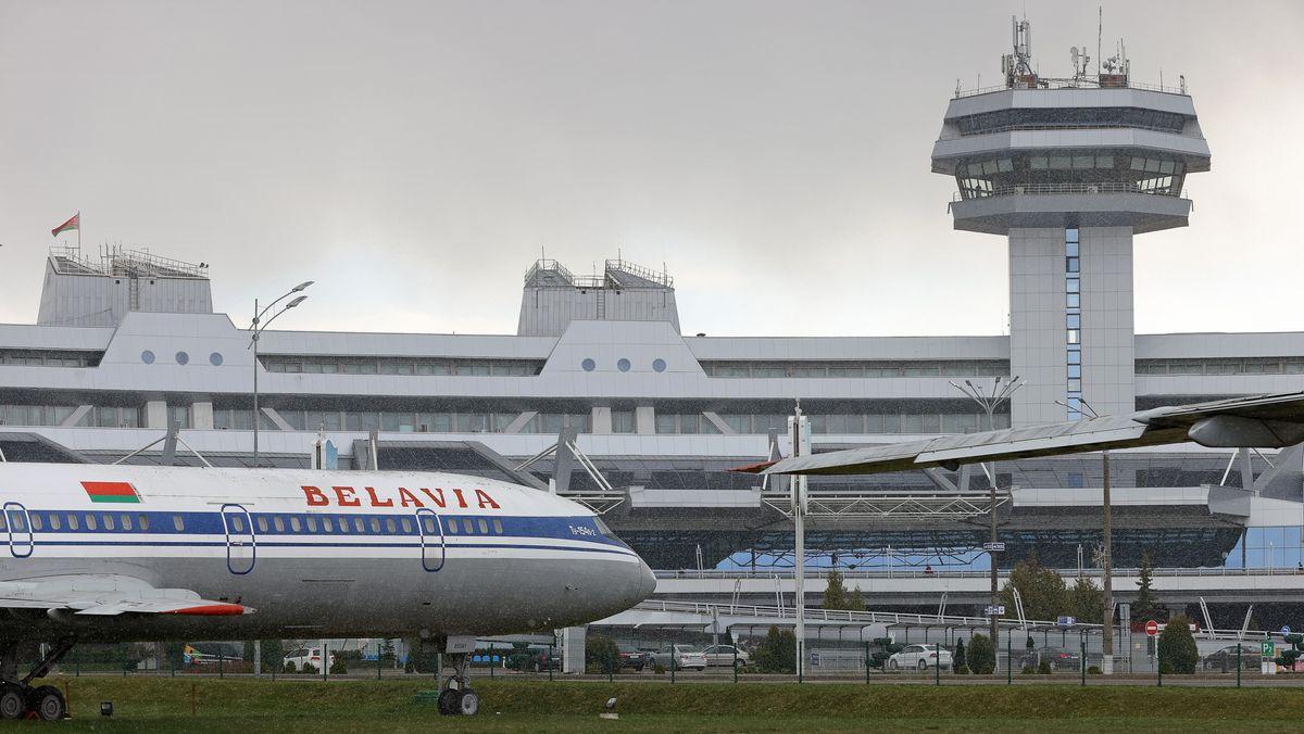 Der Flughafen von Minsk (Symbolbild)