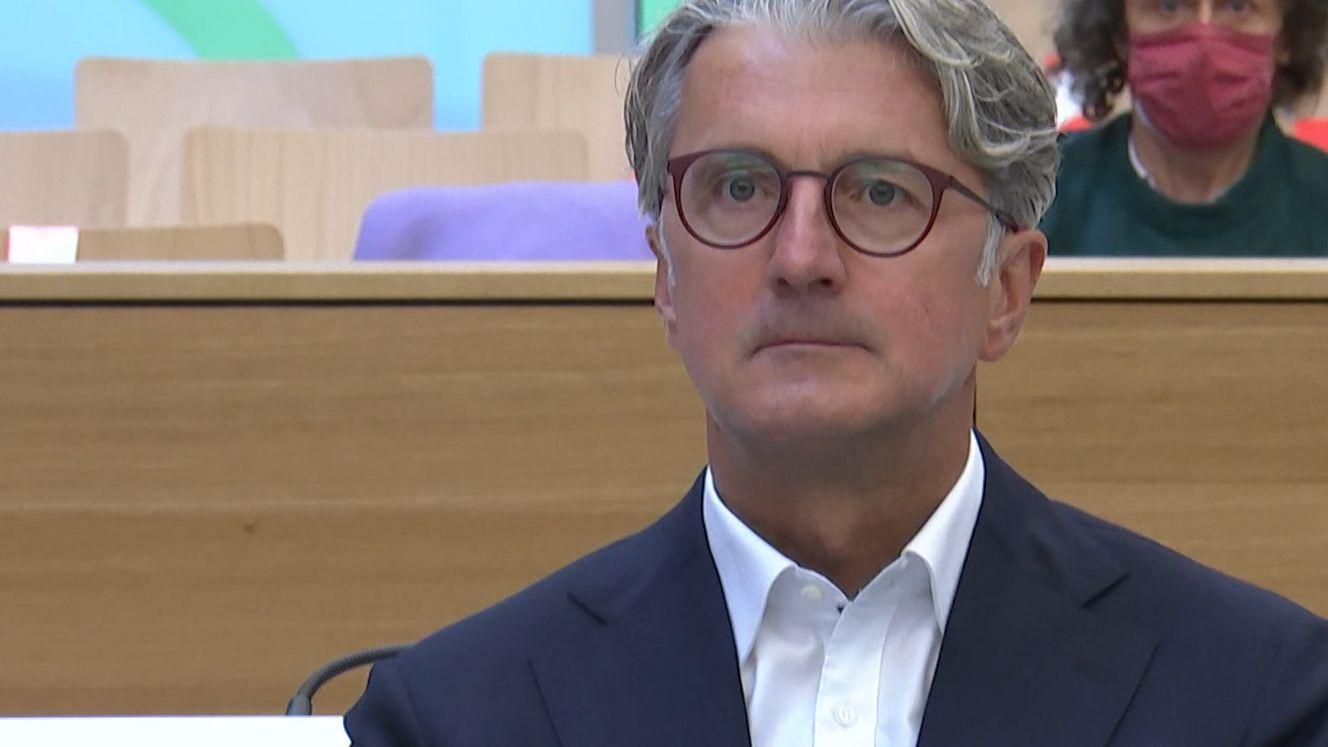 Rupert Stadler im Gerichtssaal