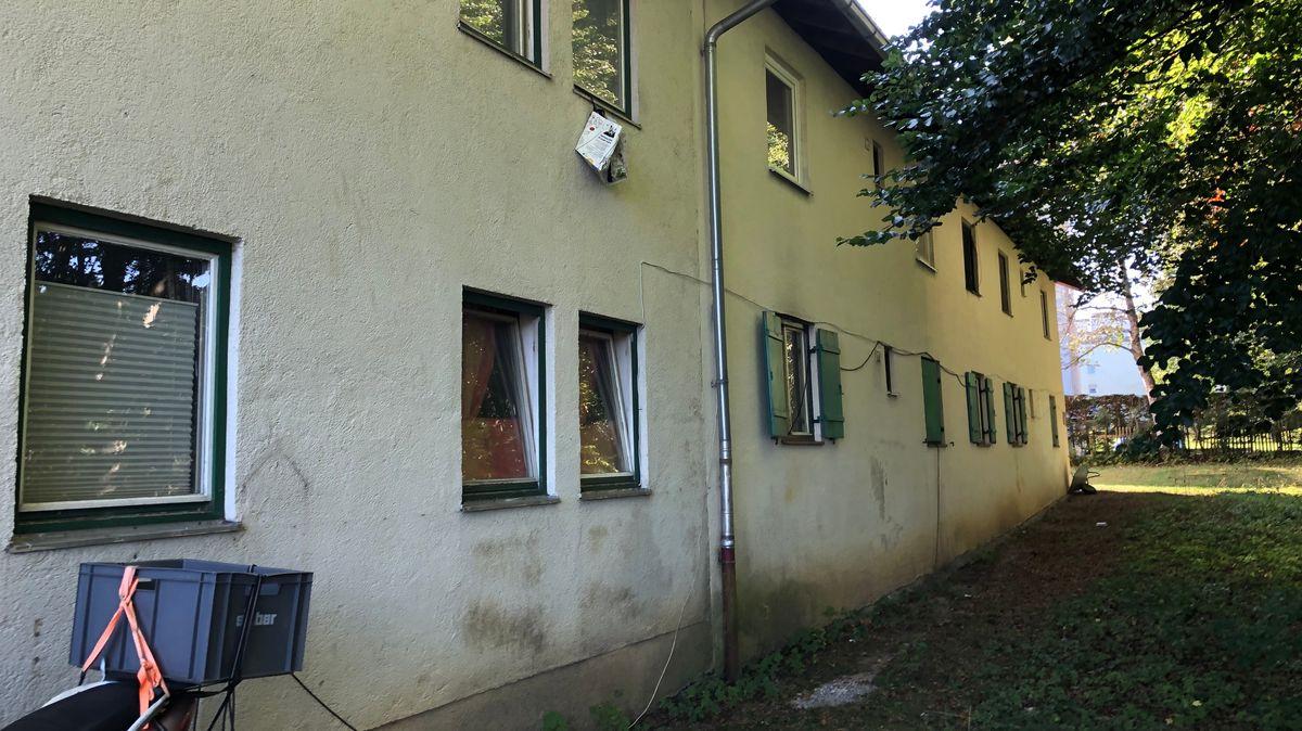 Die Obdachlosenunterkunft in Miesbach - in keinem guten Zustand