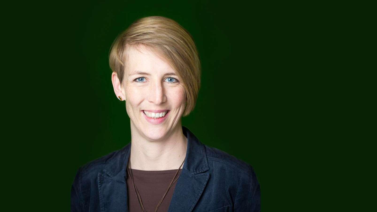 Katrin Habenschaden, OB Kandidatin der Grünen in München