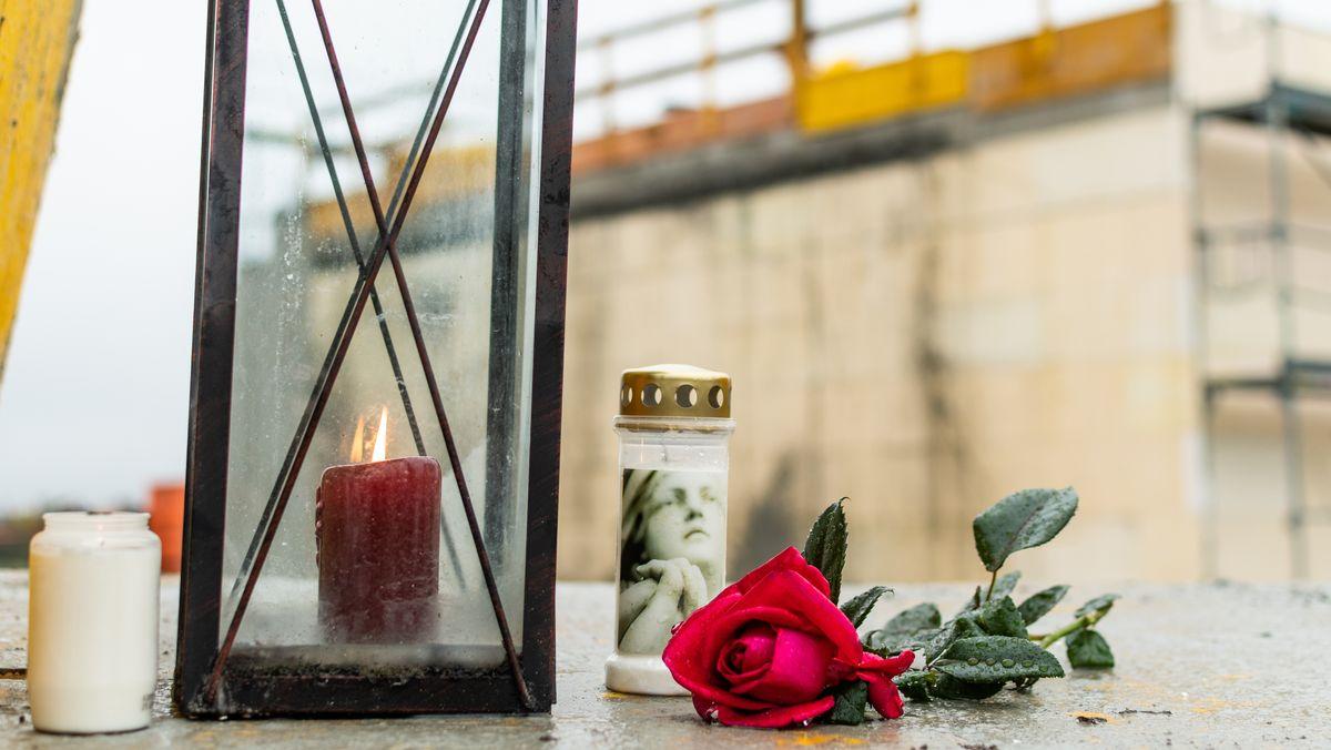 Trauer um vier Männer nach Baustellen-Unglück in Denklingen