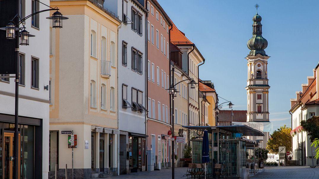 Innenstadt von Deggendorf