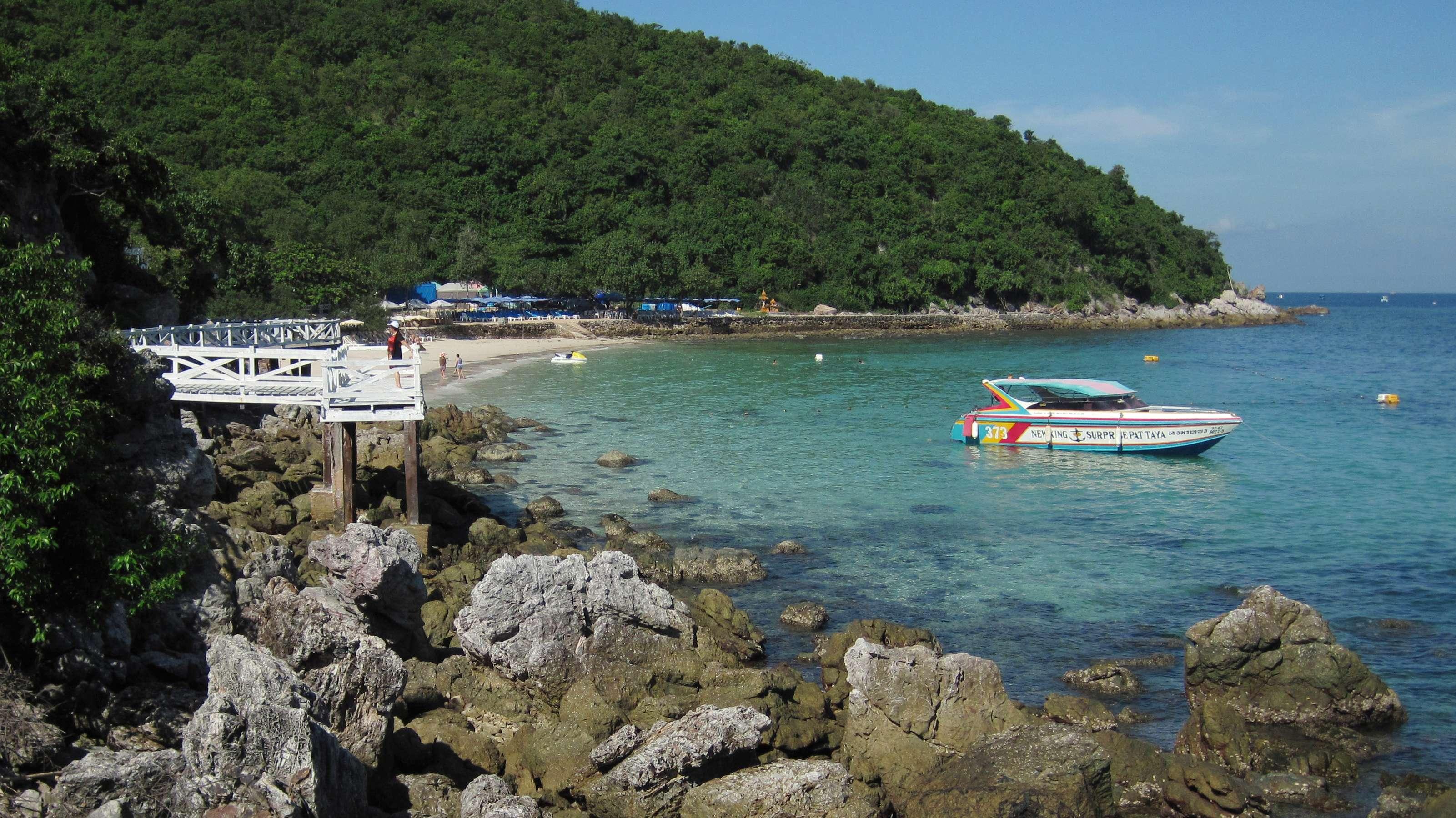 Symbolbild: Bucht auf der Nachbarinsel Ko Lan, in der Nähe von Pattaya