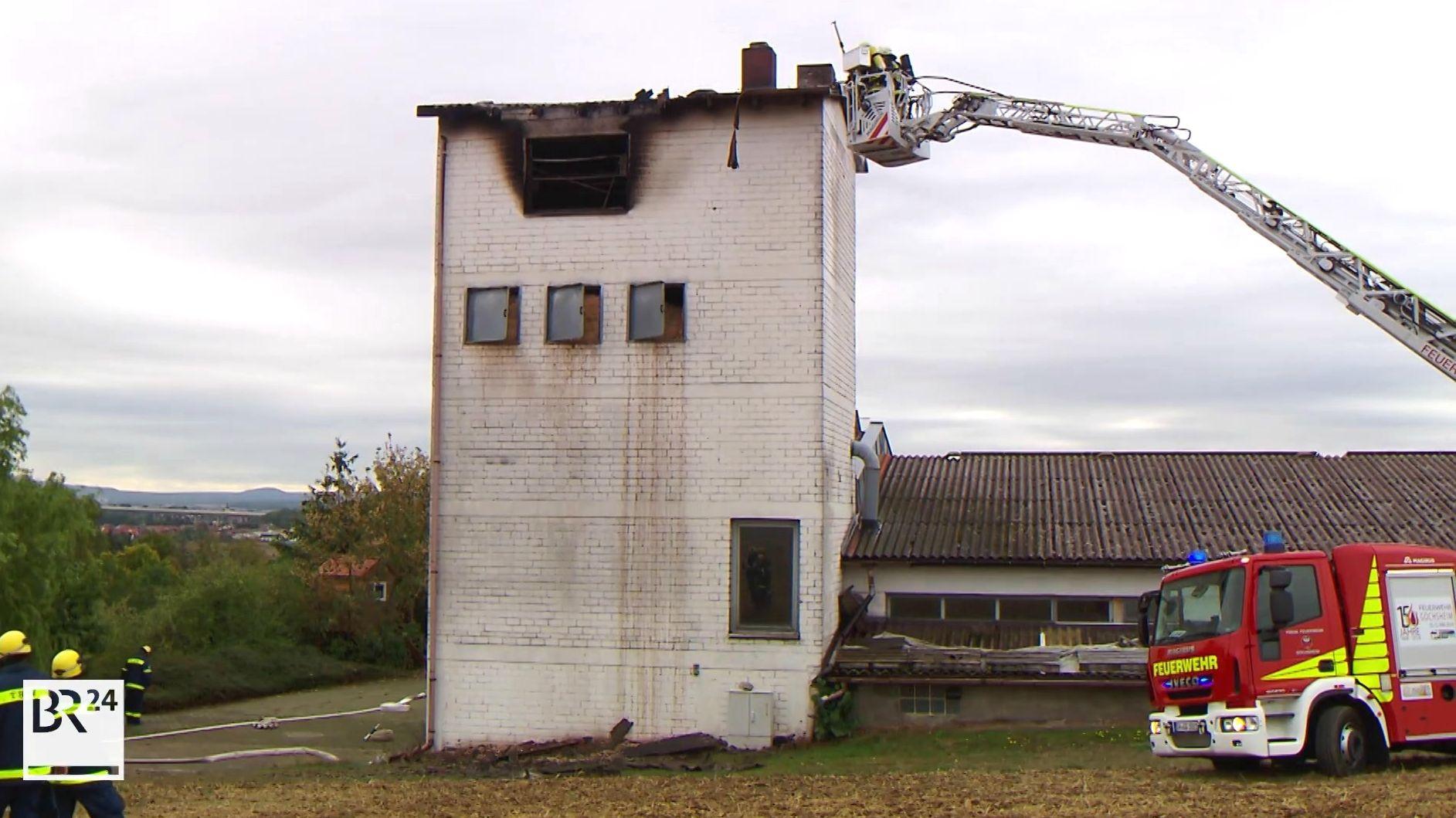 Brand in Schreinerei in Gädheim – Schaden im sechsstelligen Bereich