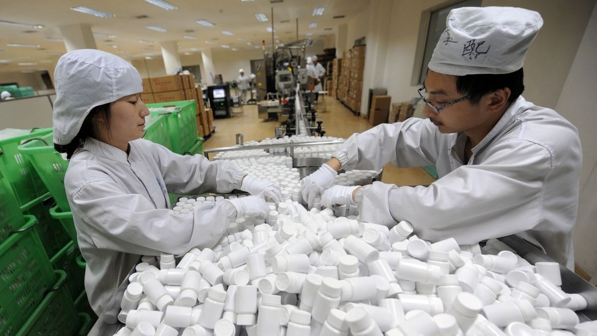 Arzneimittelproduktion
