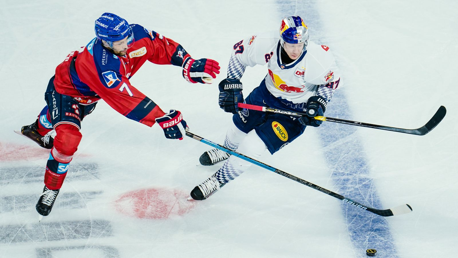 Eishockey: München gewinnt DEL-Topspiel in Mannheim