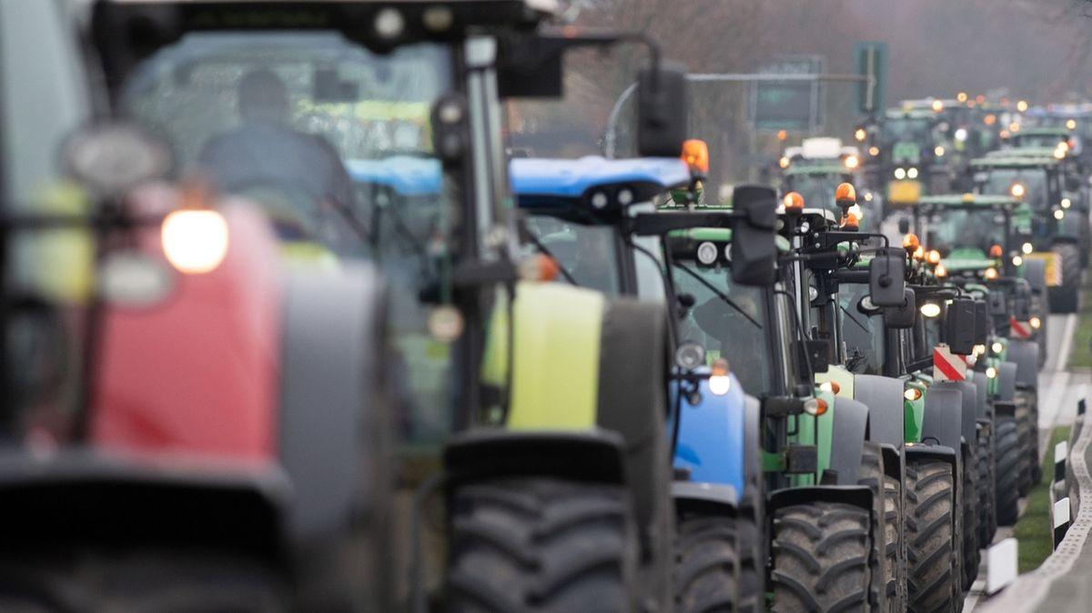 Bauernprotest in Berlin
