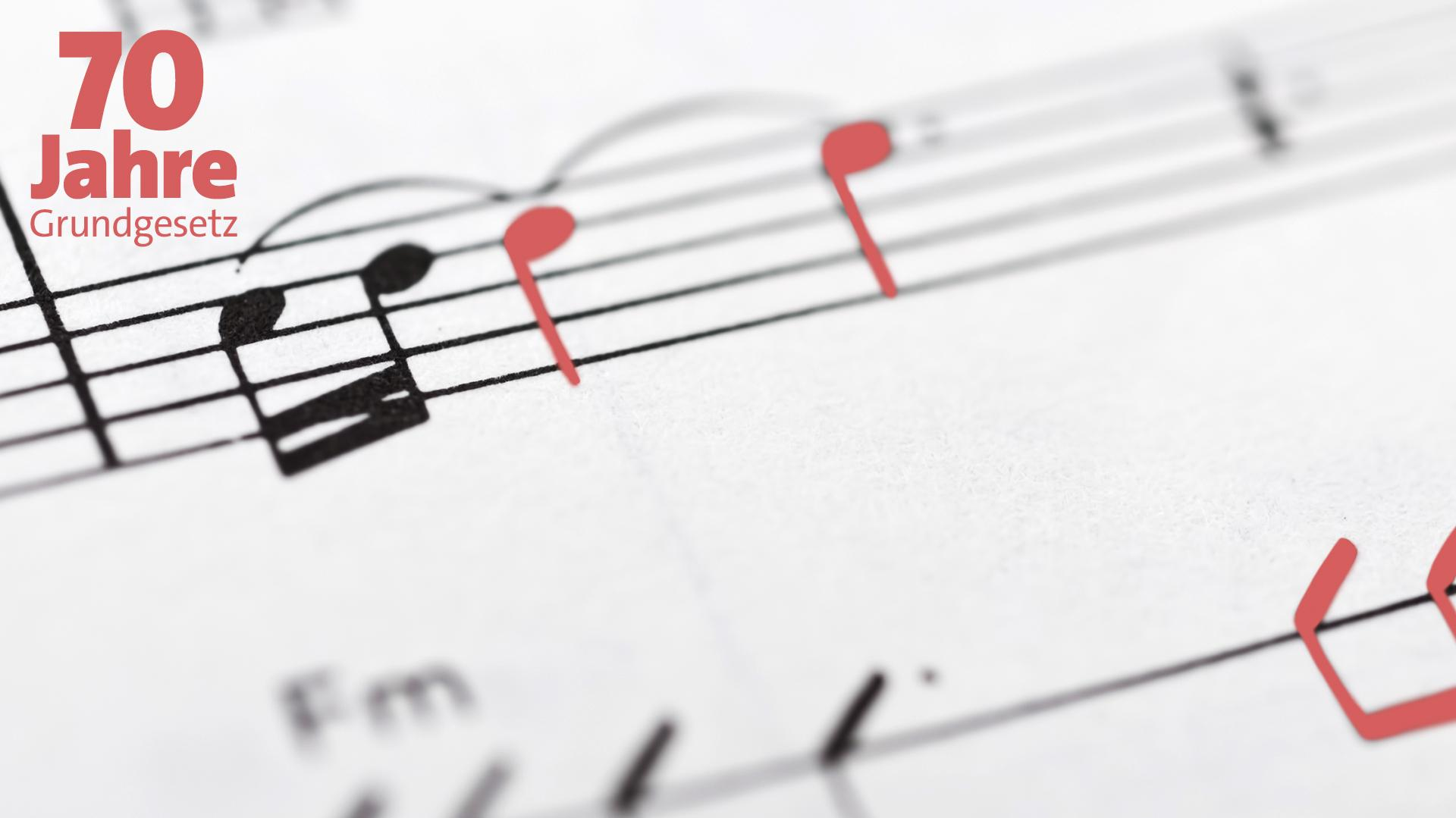 Nicht nur Böhmermann: Das Grundgesetz und die Musik