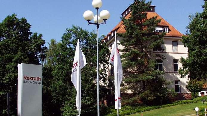 Die Hauptverwaltung von Bosch Rexroth in Lohr am Main