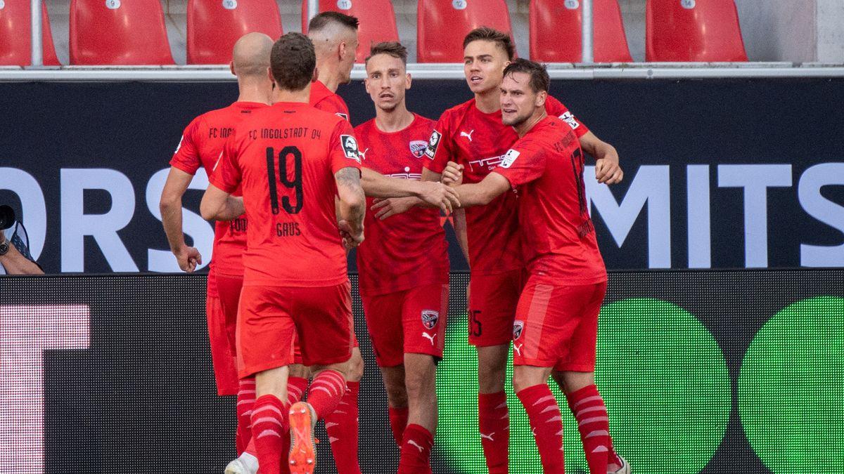 Der FC Ingolstadt jubelt über die Aufholjagd.