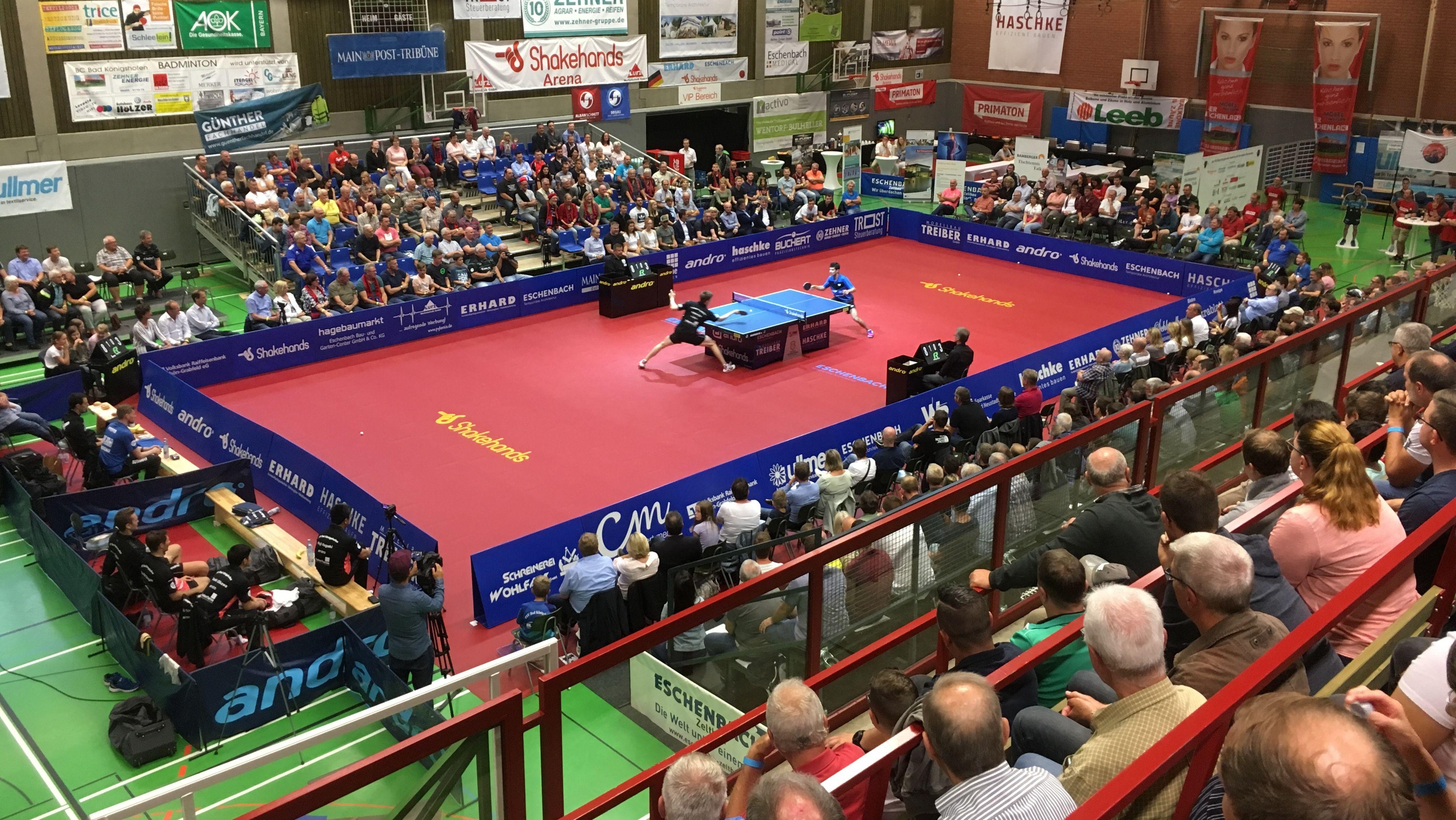 Tischtennis: TSV Bad Königshofen