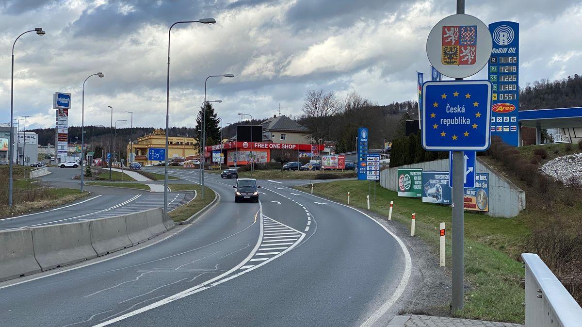 Die Grenze zu Tschechien bei Furth im Wald