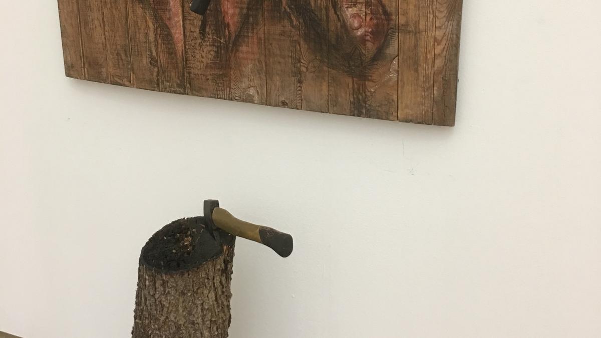 """Günther Gerstenbergs Kunstwerk """"Der nächste bitte"""" zeigt den Umgang der Gegner mit Eisner und Genossen."""