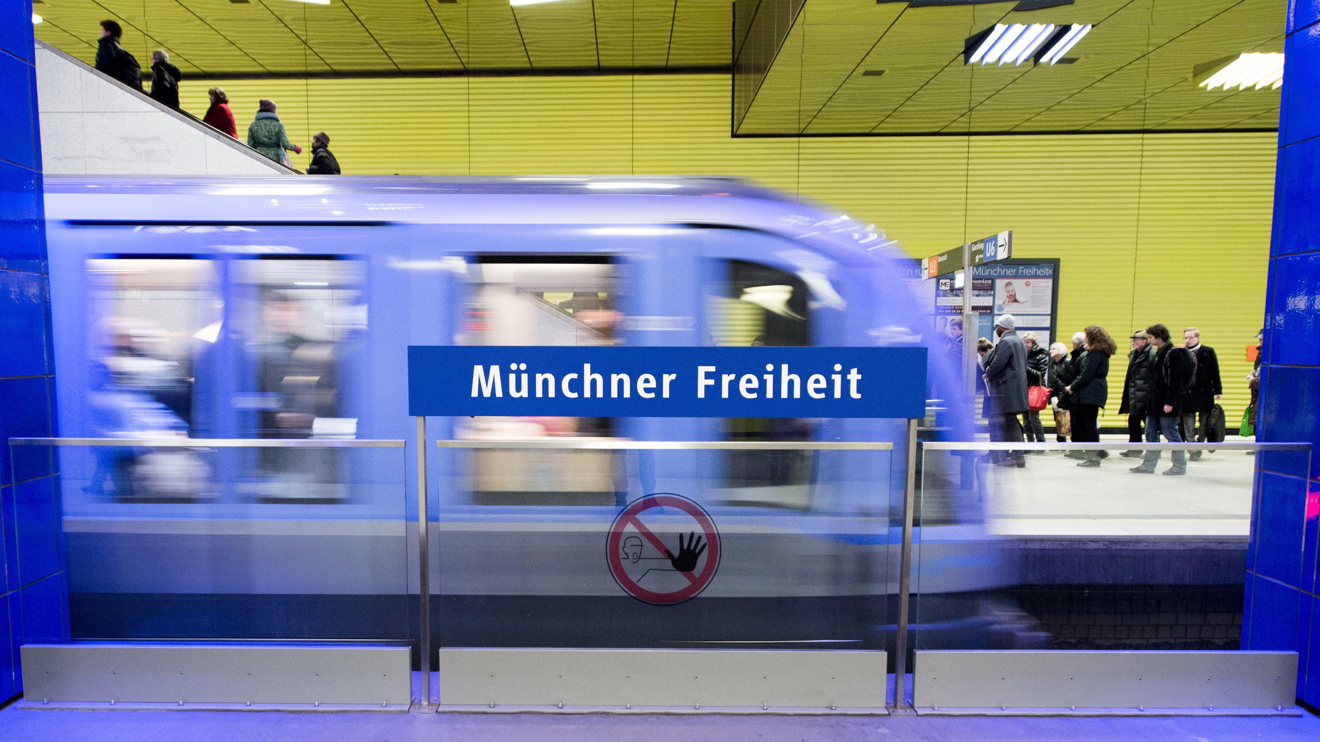 U-Bahn-Haltestelle Münchner Freiheit