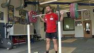 Gewichtheber Simon Brandhuber | Bild:picture-alliance/dpa