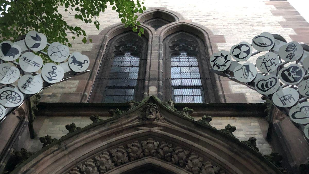 Eingang Dreieinigkeitskirche