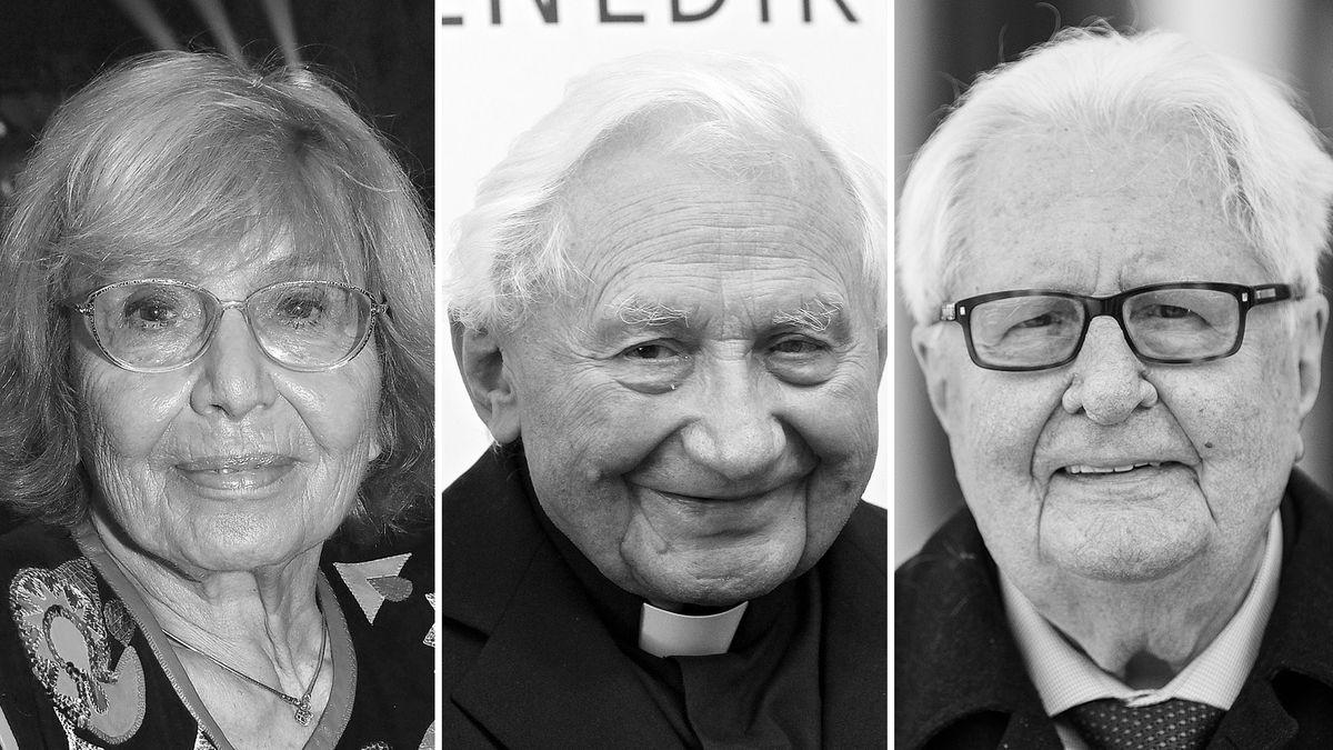 Ruth Gassmann, Georg Ratzinger, Hans-Jochen Vogel