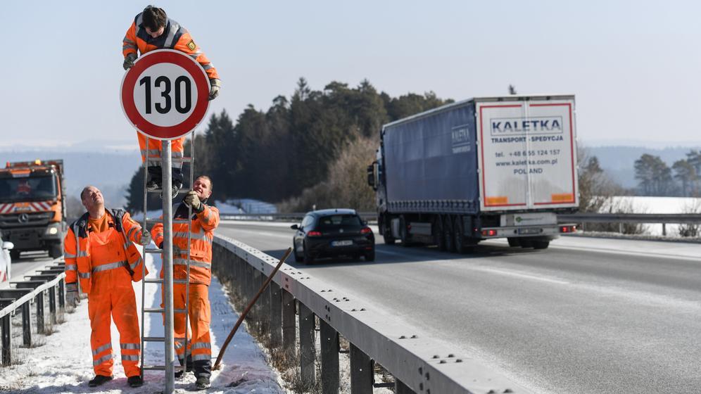 Tempolimit auf der Autobahn | Bild:pa/dpa/ Patrick Seeger