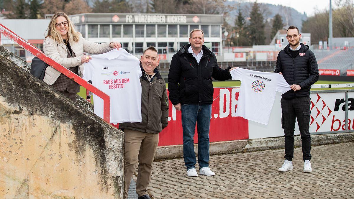 Der Fußball-Club Würzburger Kickers e. V. setzt sich für mehr Inklusion ein.
