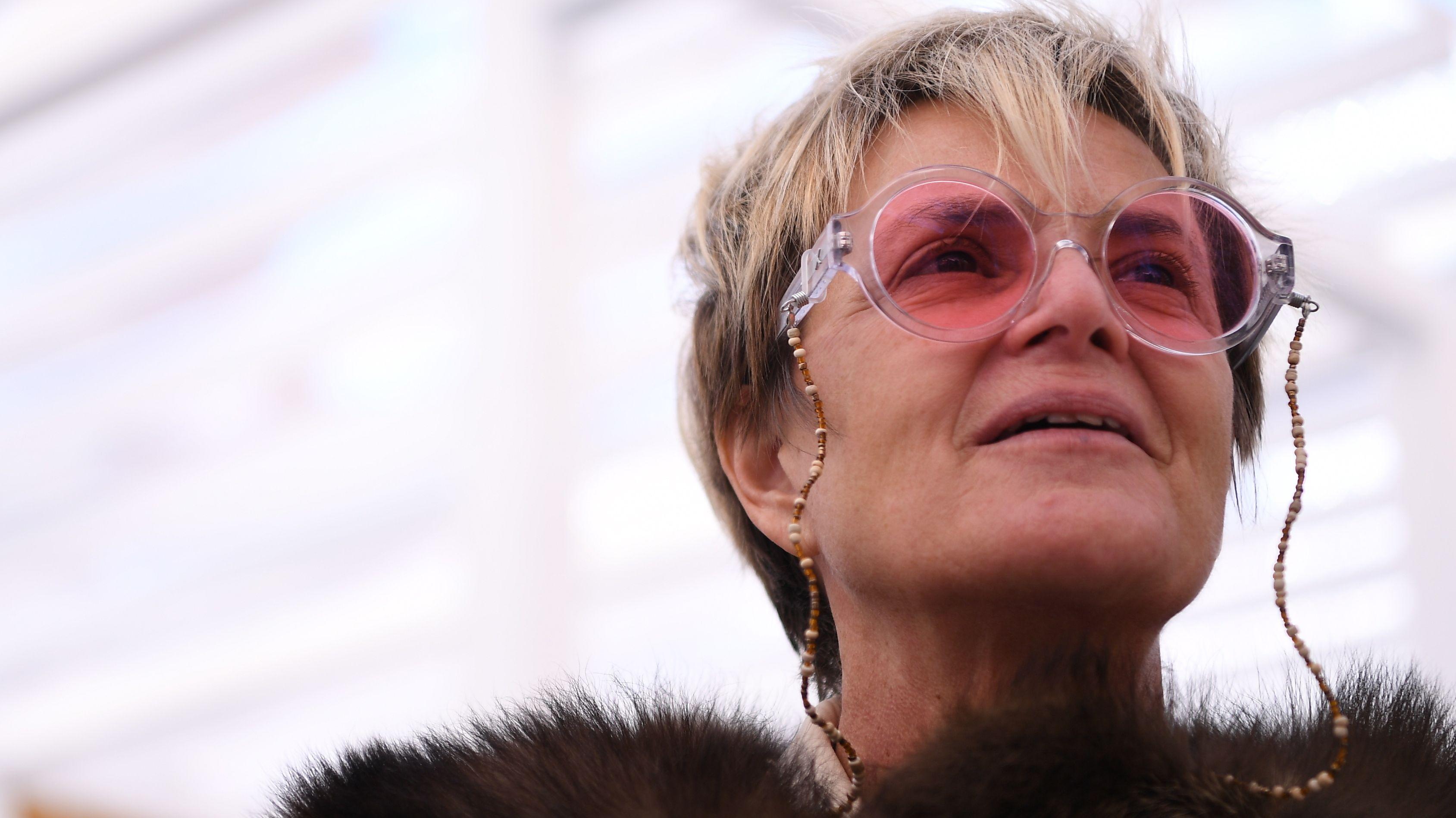 Die selbsternannte Fürstin Gloria von Thurn und Taxis.