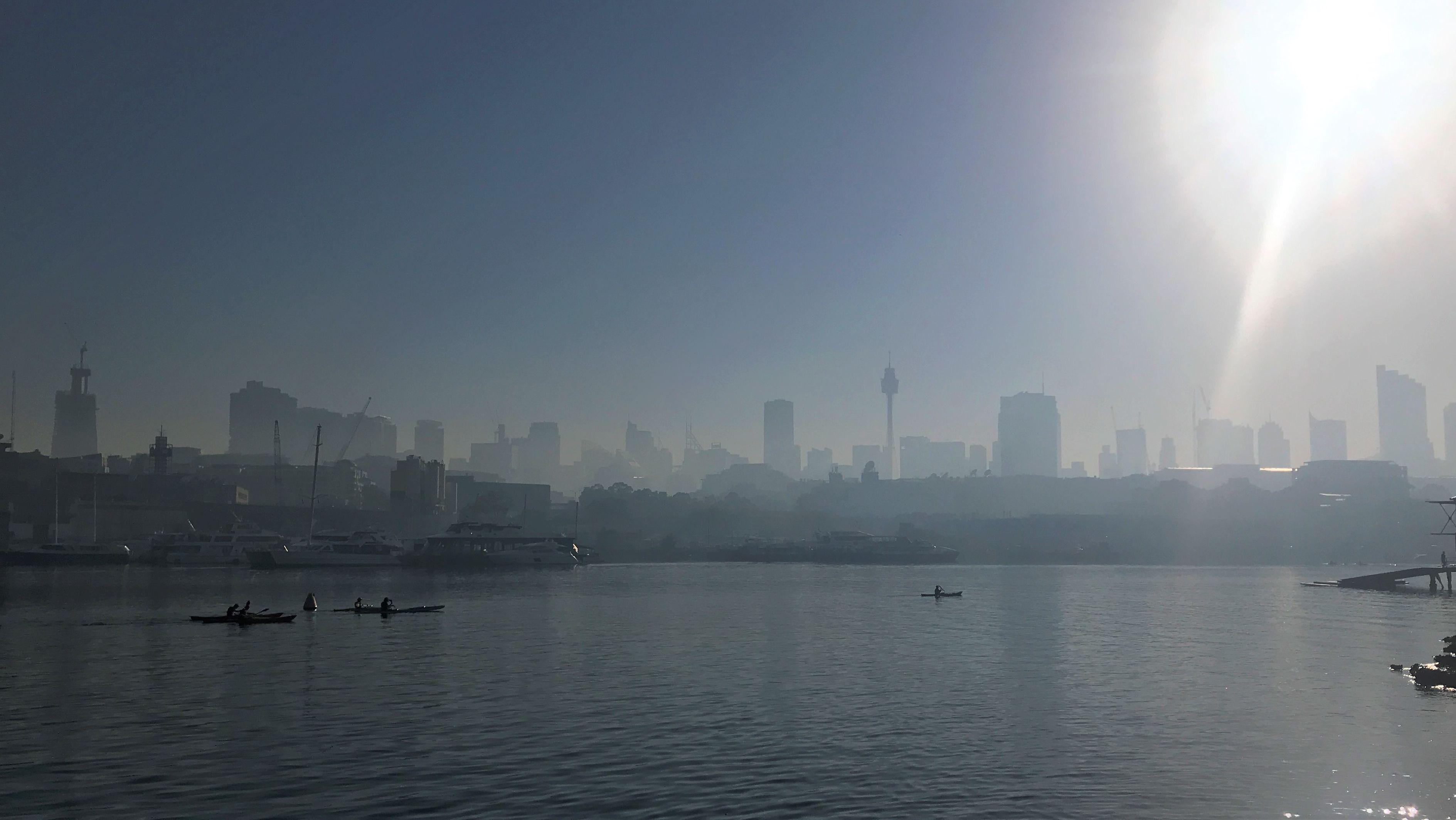 Smog über Sydney