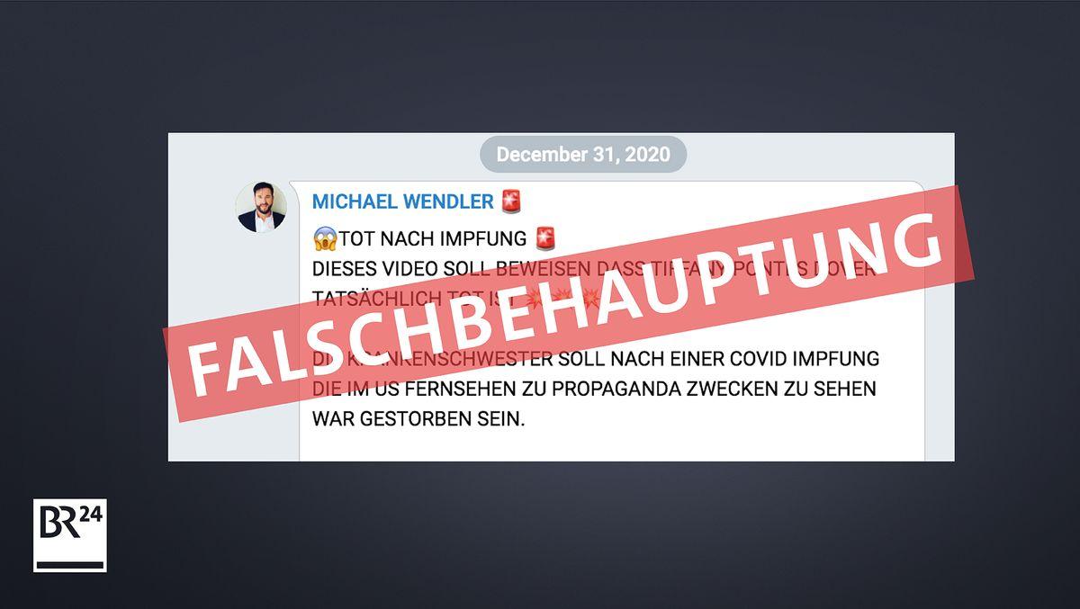 Auch prominente deutsche Corona-Verharmloser beteilgen sich an den Gerüchten.