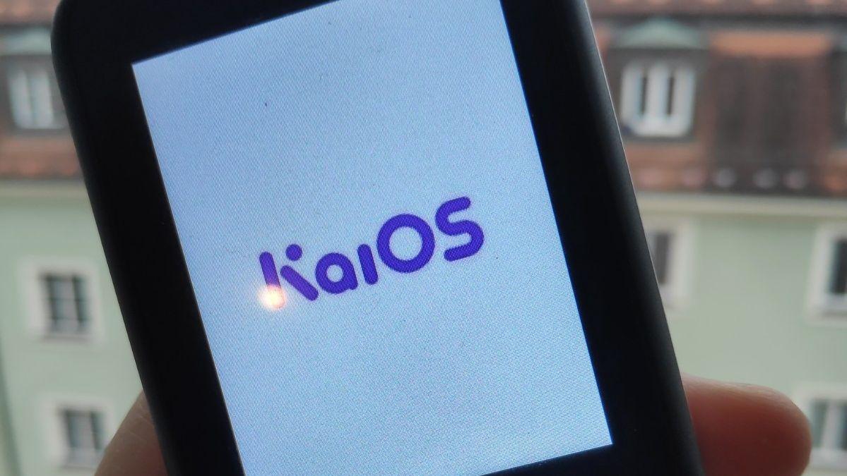 KaiOS-Logo auf Handy