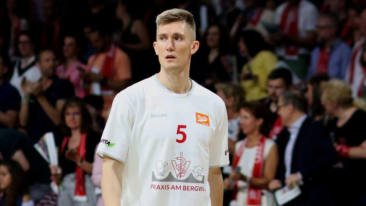T.J. Bray beim Auswärtsspiel Vechtas in München