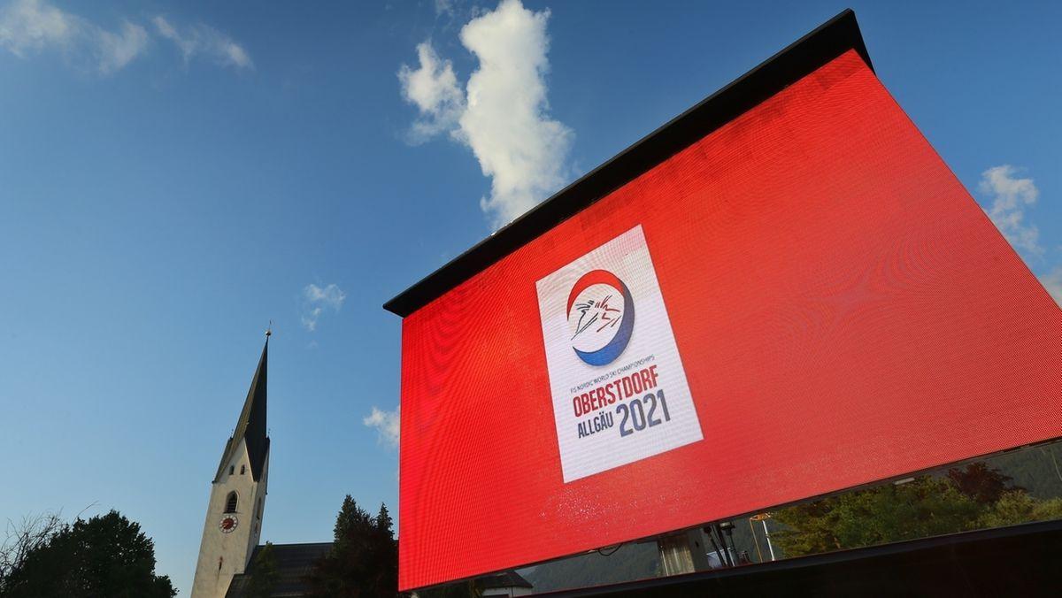 Das Logo für die FIS Nordische Ski-WM 2021