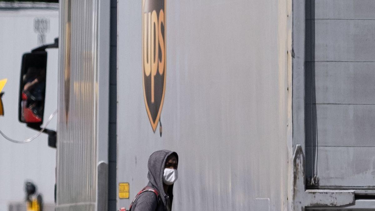 Das Verteilzentrum des UPS-Dienstes in Langenhangen: 72 Mitarbeiter dort sind infiziert.