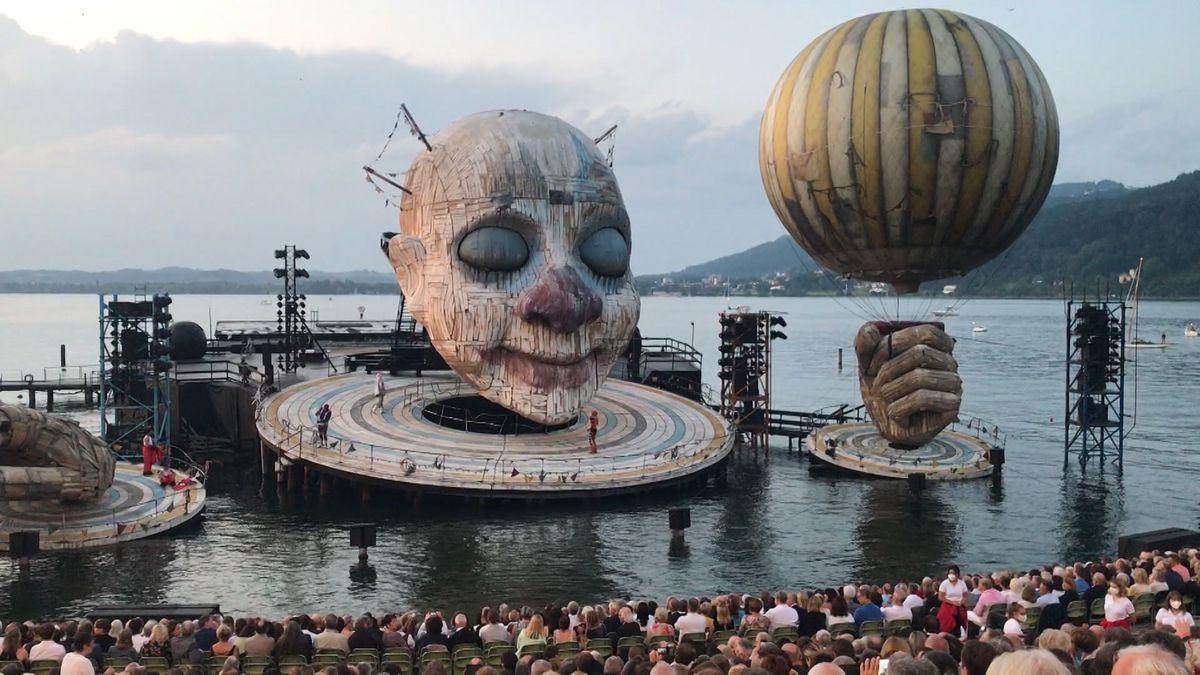 """Zirkus am Bodensee: """"Rigoletto"""" auf der Seebühne"""
