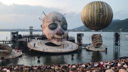 """Zirkus am Bodensee: """"Rigoletto"""" auf der Seebühne   Bild:BR"""