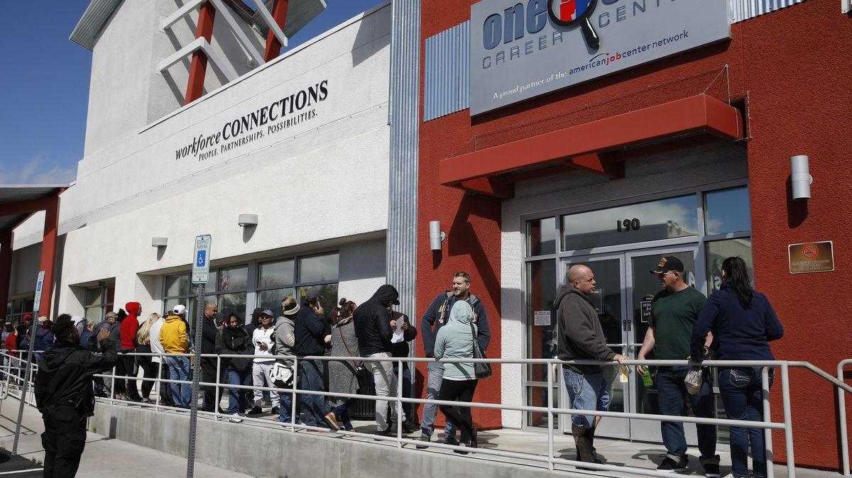 In der Corona-Krise verlieren viele Amerikaner ihre Jobs