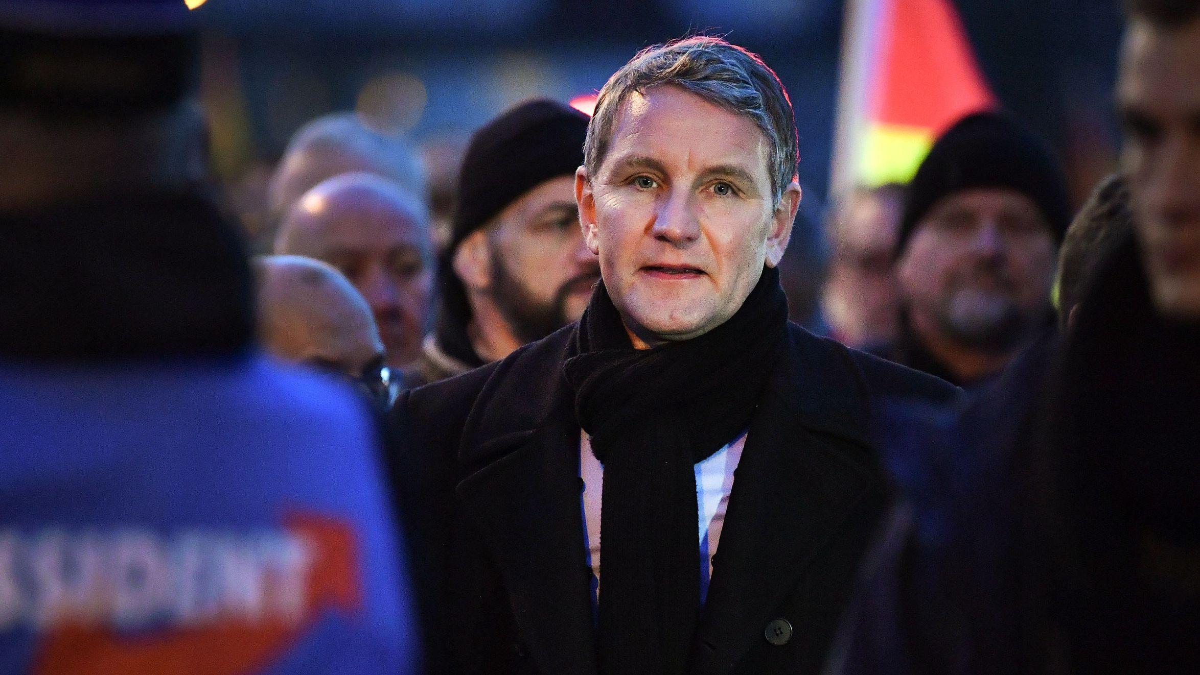 """Björn Höcke (AfD-Chef in Thüringen) ist der führende Vertreter des sogenannten """"Flügels"""" der AfD."""