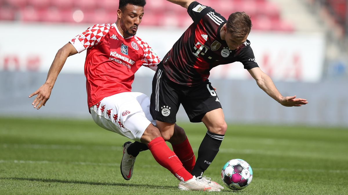 Spielszene Mainz gegen FC Bayern München.