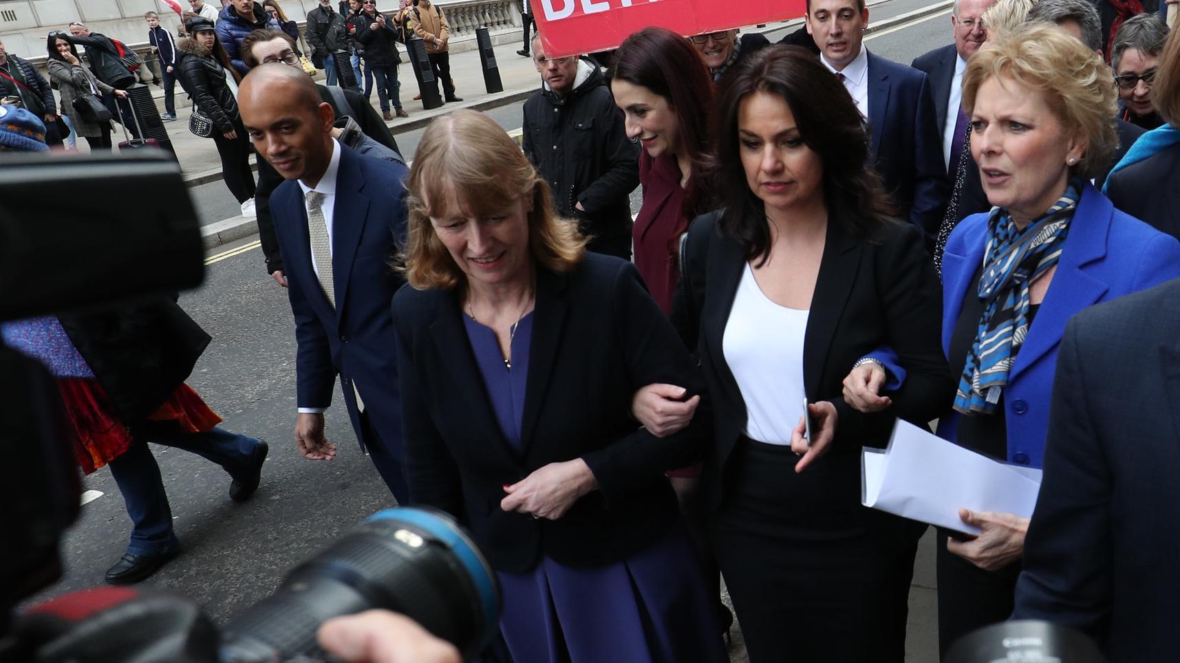 Drei EU-freundliche Konservative verlassen die Tory-Fraktion