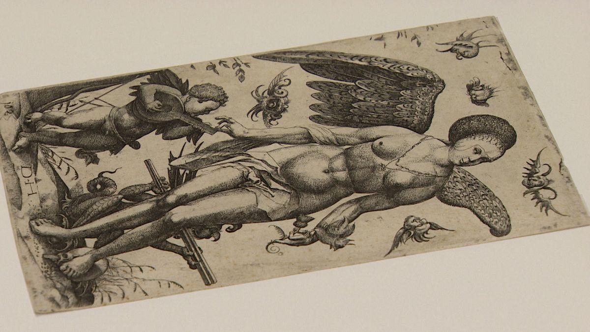 Einer der Verdachtsfälle: Diese Grafik des Kaufbeurer Radierers Daniel Hopfer hat die Stadt Kaufbeuren 1941 von dem Münchener Kunsthändler Adolf Weinmüller gekauft. Weinmüller hat mit NS-Raub- und -Beutekunst gehandelt.