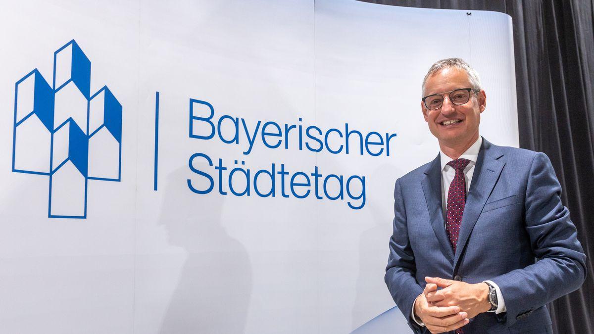 Markus Pannermayr (CSU), Straubinger Oberbürgermeister und neuer Vorsitzender des Bayerischen Städtetag