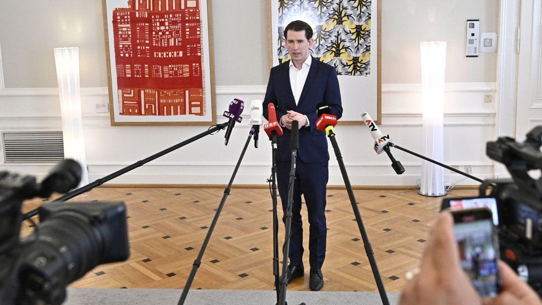 Österreichischer Bundeskanzler Sebastian Kurz