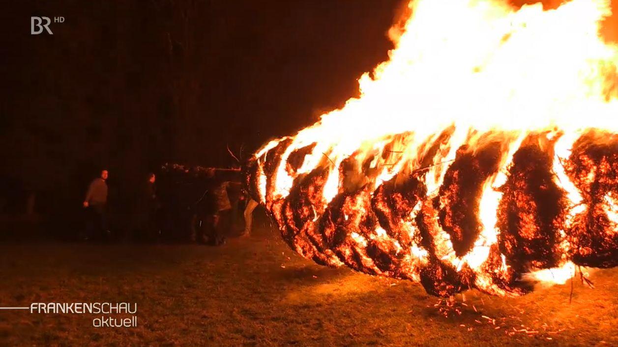 """Das """"Feuerrädchen"""" von Obersinn"""