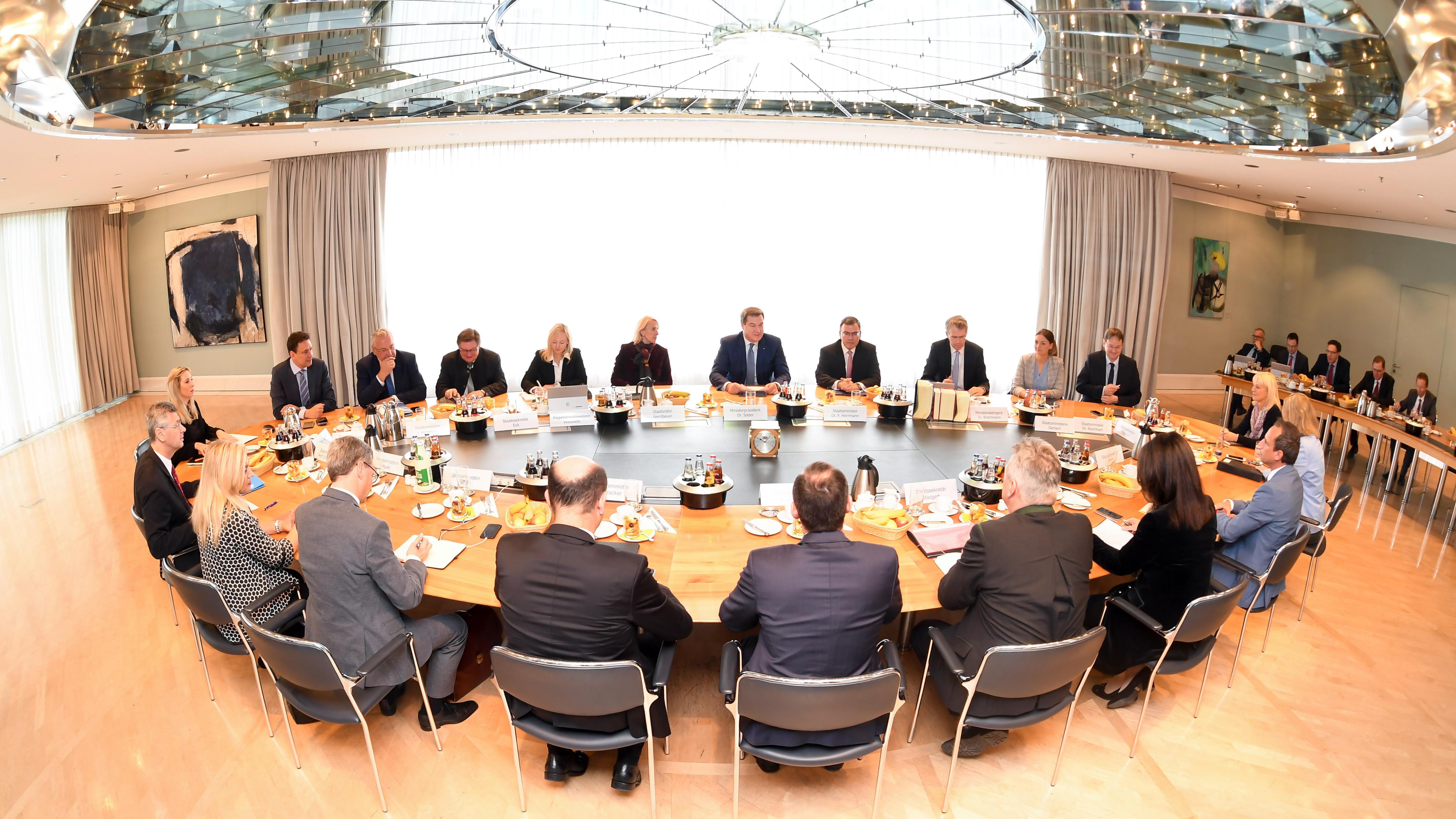 Bayerisches Kabinett (Archivbild)