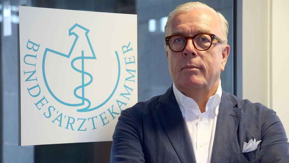 Klaus Reinhardt, Chef der Bundesärztekammer