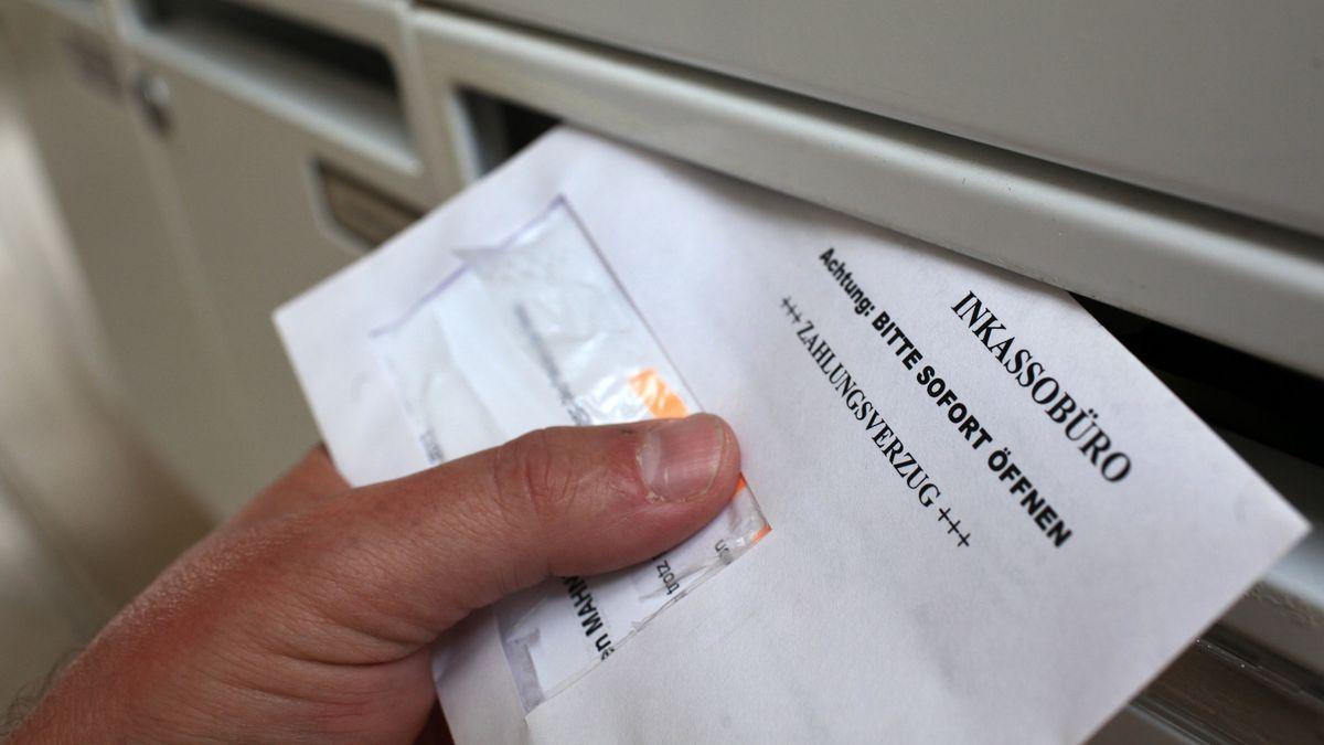 Brief von einem Inkassobüro